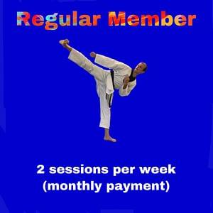 Regular Member - 2 - two sessions per week