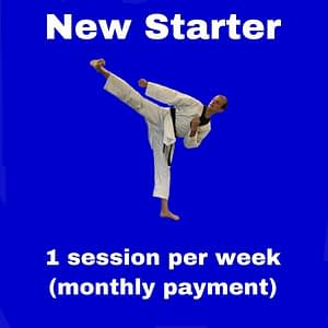 New Starter - 1 session per week