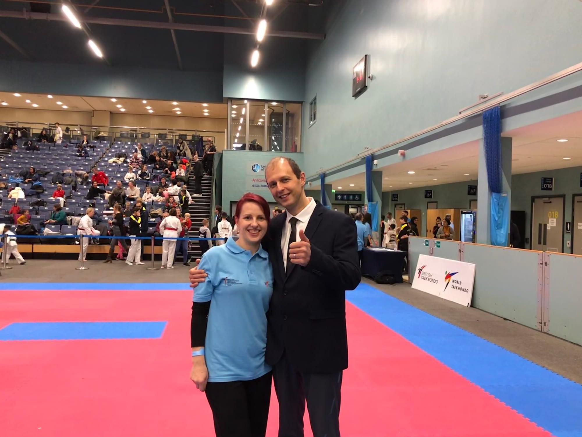 Taekwondo4Fitness Club Team at the National Poomsae Championships