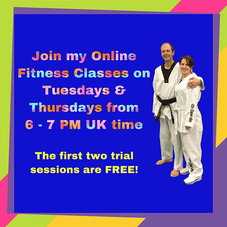 Taekwondo Online Fitness Classes