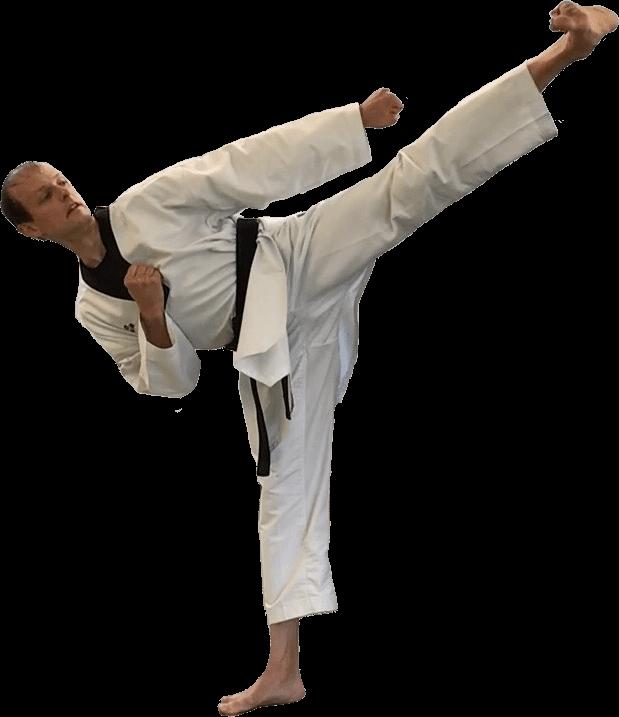The Lead Instructor at Taekwondo4Fitness