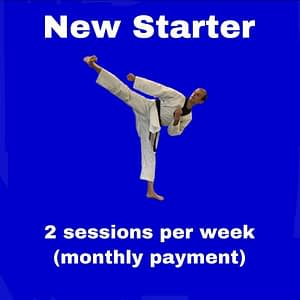 New Starter - 2 - two sessions per week