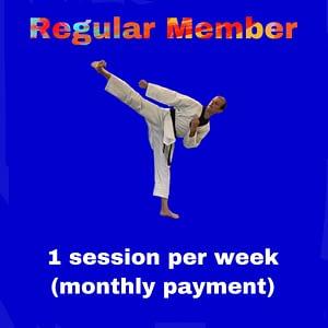 Regular Member - 1 - one session per week