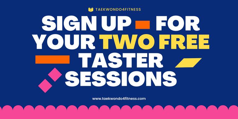 Taekwondo Free Taster Registration Session Signup