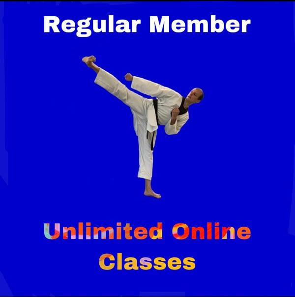 Regular Member - Unlimited Online Classes